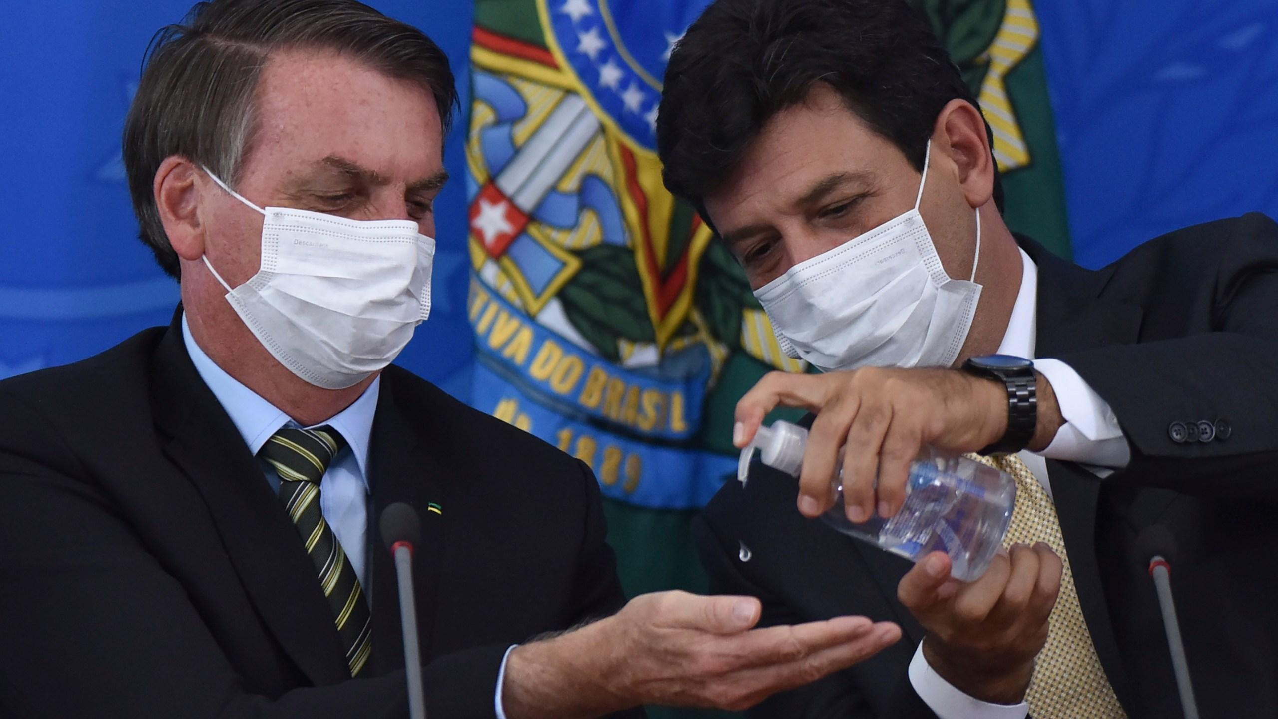 Jair Bolsonaro, Luiz Henrique Mandetta