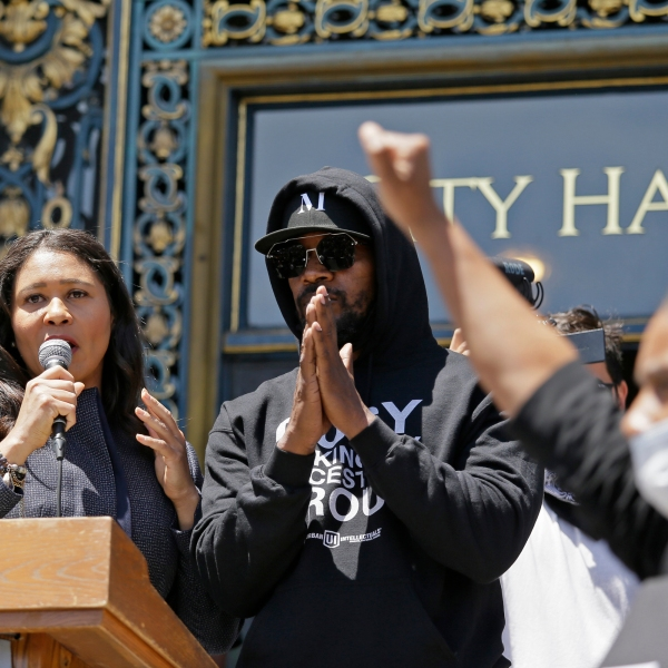 Jamie Foxx, London Breed