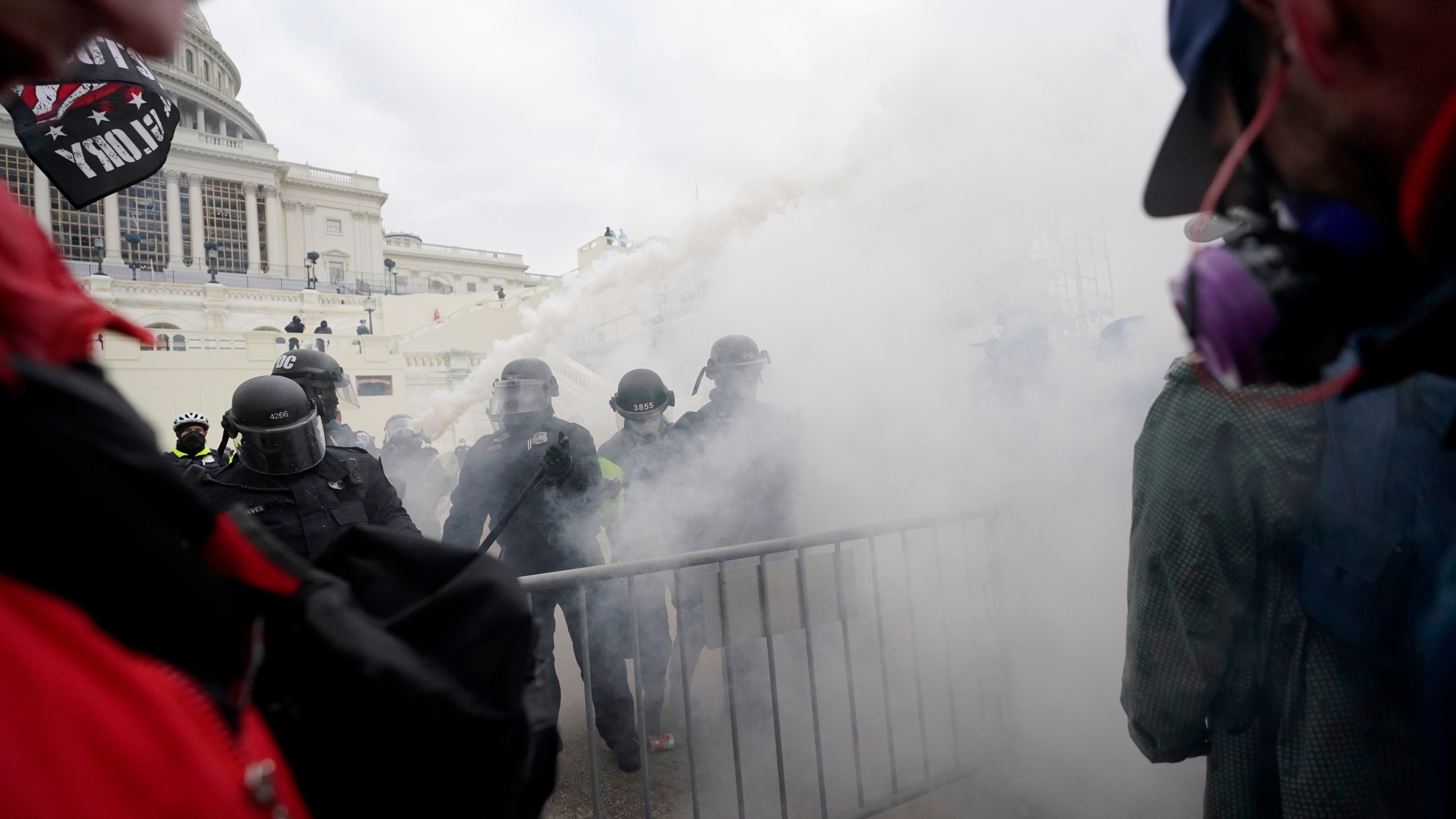 The Latest: Trump protesters breach US Capitol | ConchoValleyHomepage.com