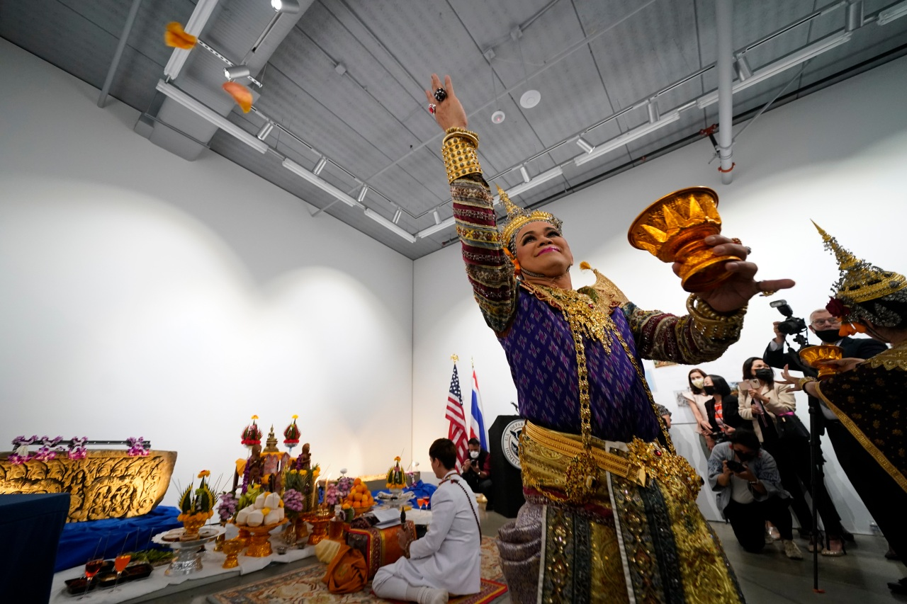 Religious artifacts returned to Thailand after decades - ConchoValleyHomepage.com