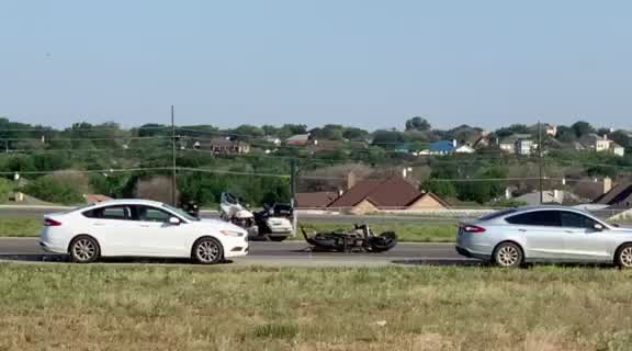 Crash on Loop 306 that appears to involve a motorcycle