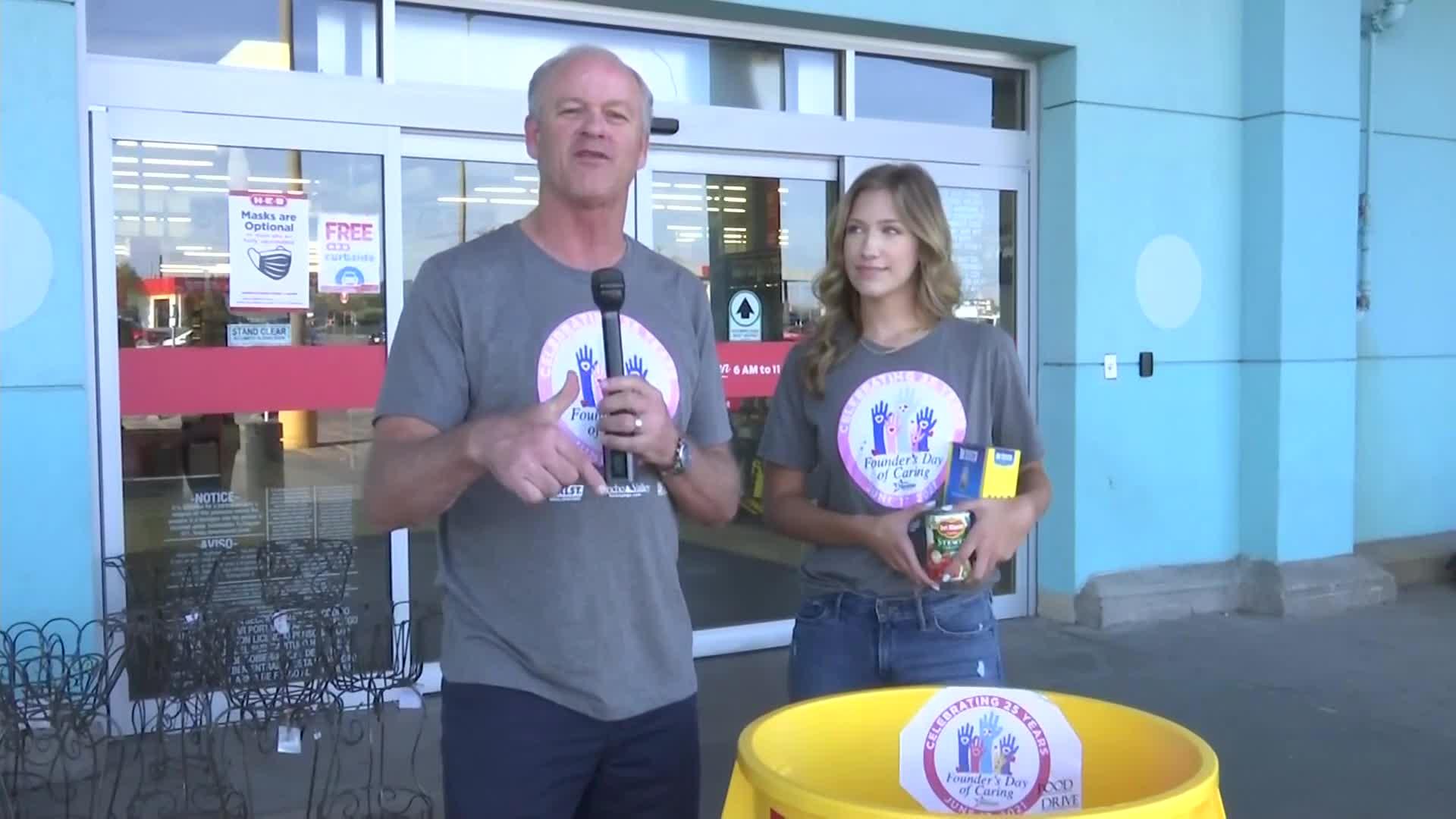 Greg Kerr and Kayla Brown of KLST News