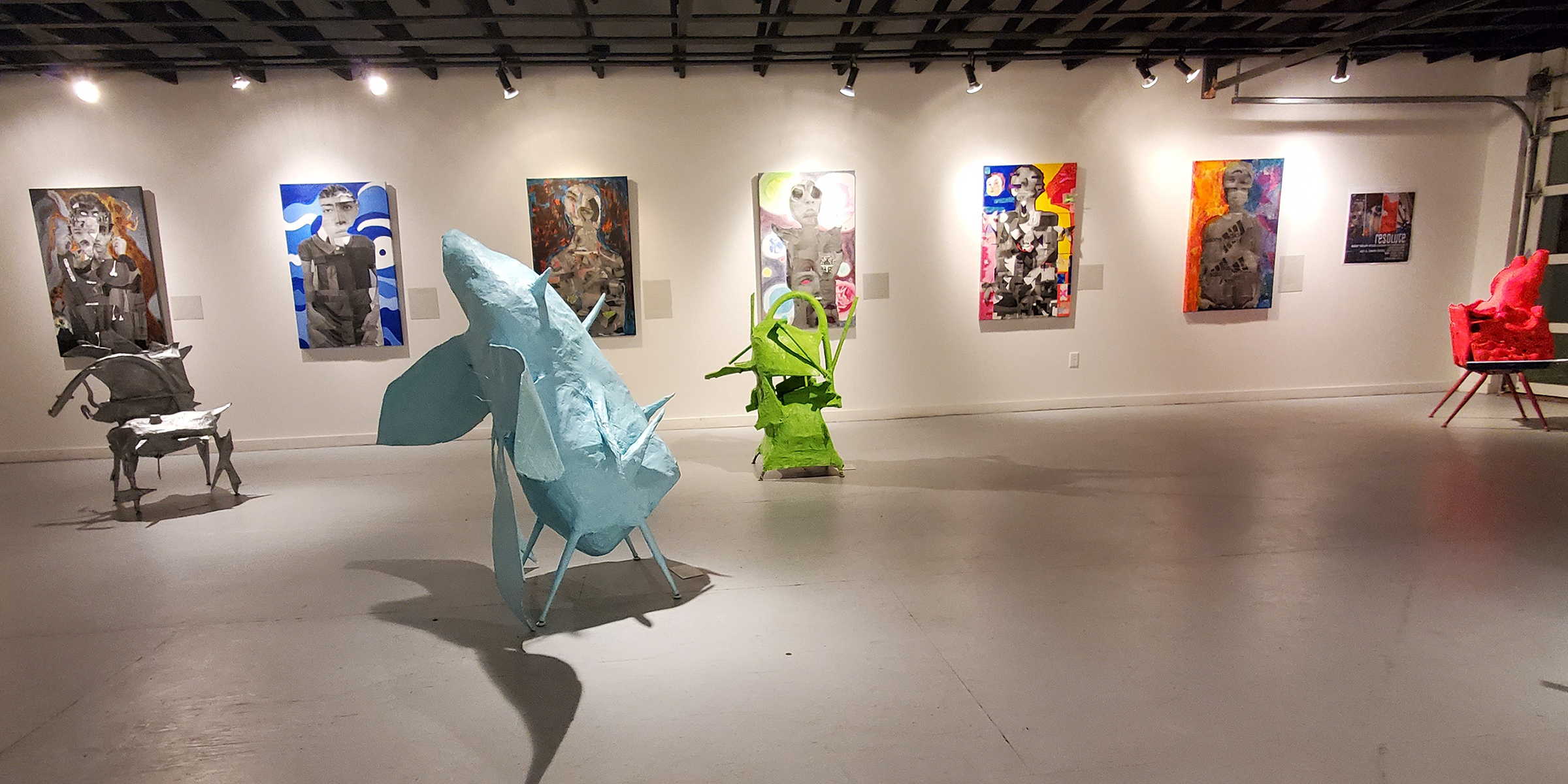 Disrupted — an art exhibit by the Water Valley Artist Society