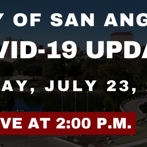 City of San Angelo COVID-19 Update