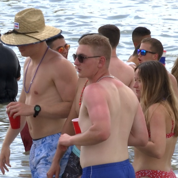 Many gather at Lake Nasworthy for fun and festivities for this July Fourth holiday weekend.
