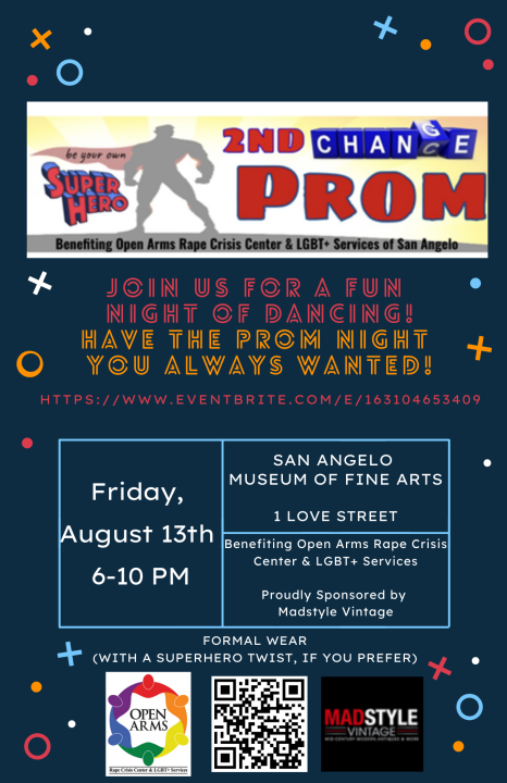 2nd Chance Prom flyer