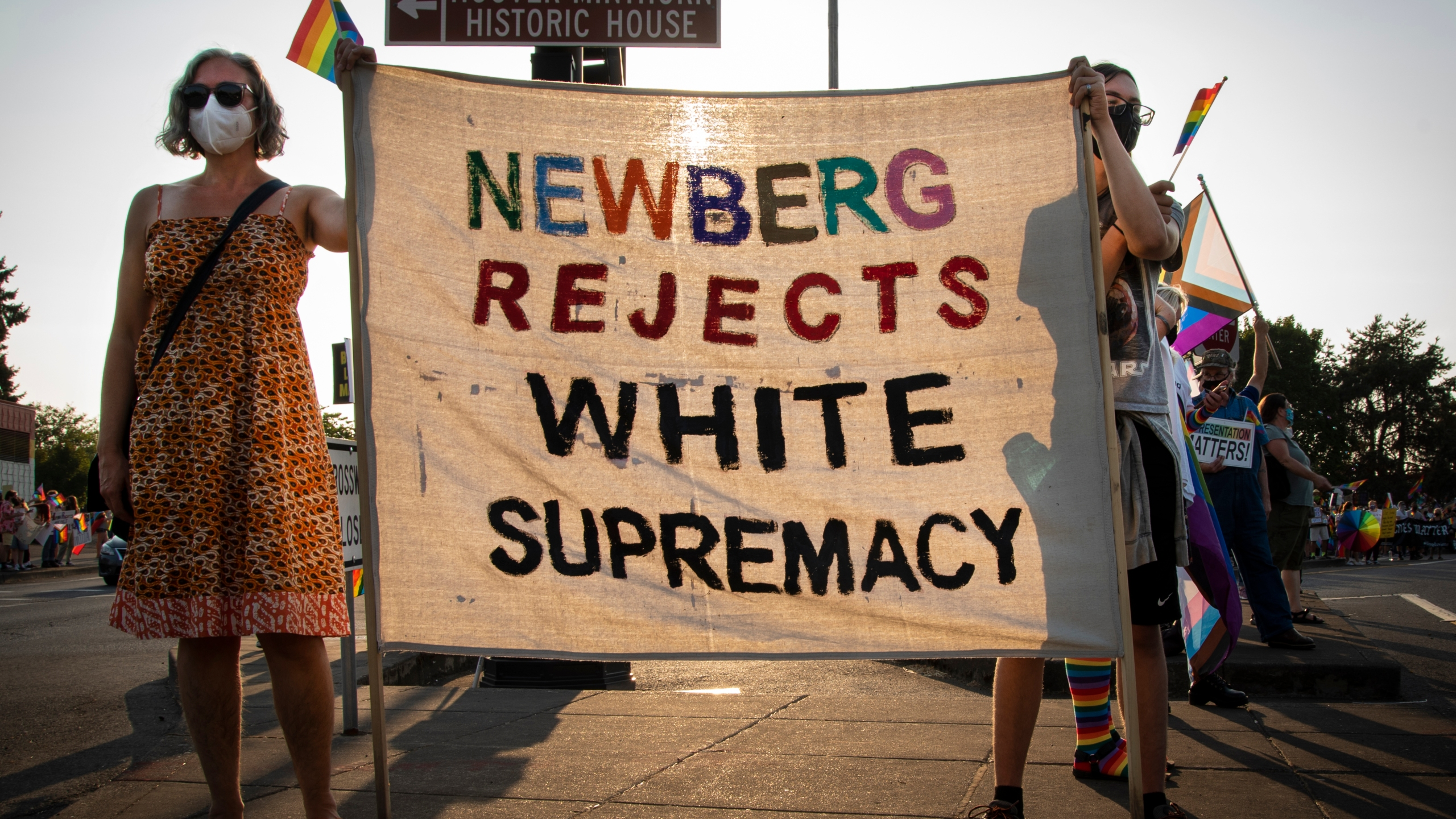 Newber protest 21